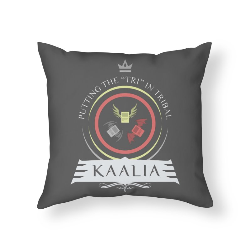 Commander Kaalia Home Throw Pillow by Epic Upgrades
