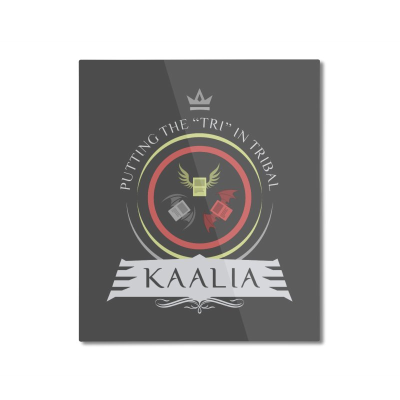 Commander Kaalia Home Mounted Aluminum Print by Epic Upgrades