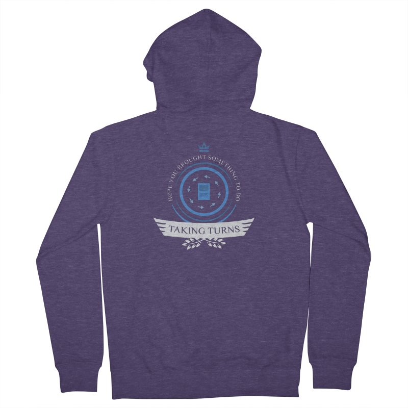 Taking Turns Men's French Terry Zip-Up Hoody by Epic Upgrades