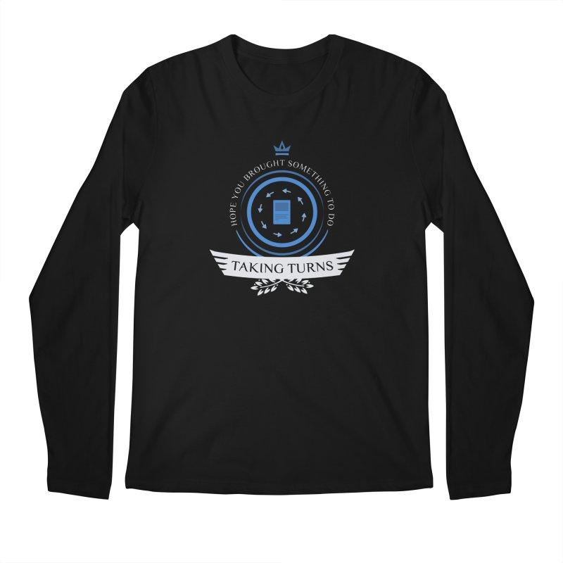 Taking Turns Men's Regular Longsleeve T-Shirt by Epic Upgrades