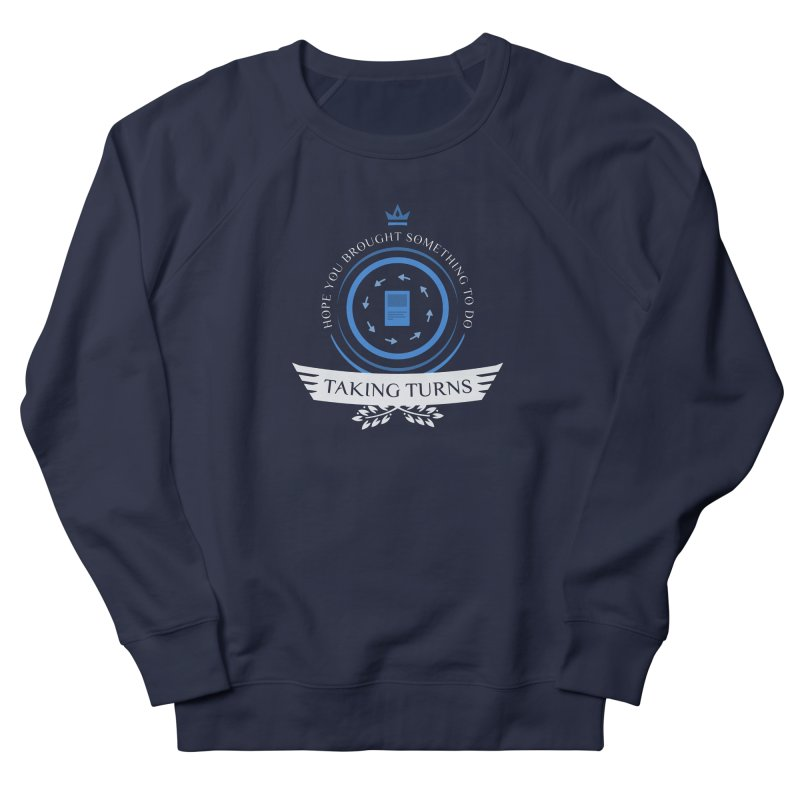 Taking Turns Men's French Terry Sweatshirt by Epic Upgrades