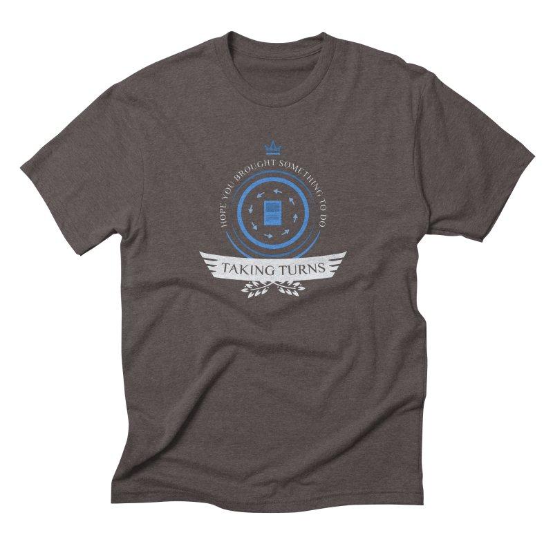 Taking Turns Men's Triblend T-Shirt by Epic Upgrades
