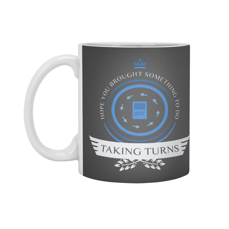 Taking Turns Accessories Standard Mug by Epic Upgrades