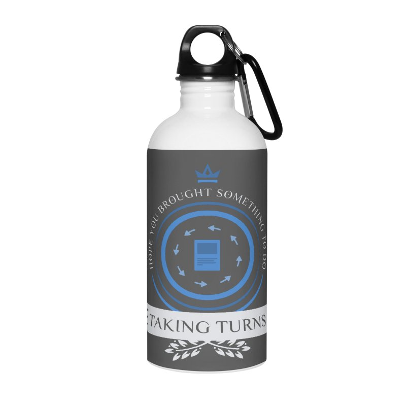 Taking Turns Accessories Water Bottle by Epic Upgrades