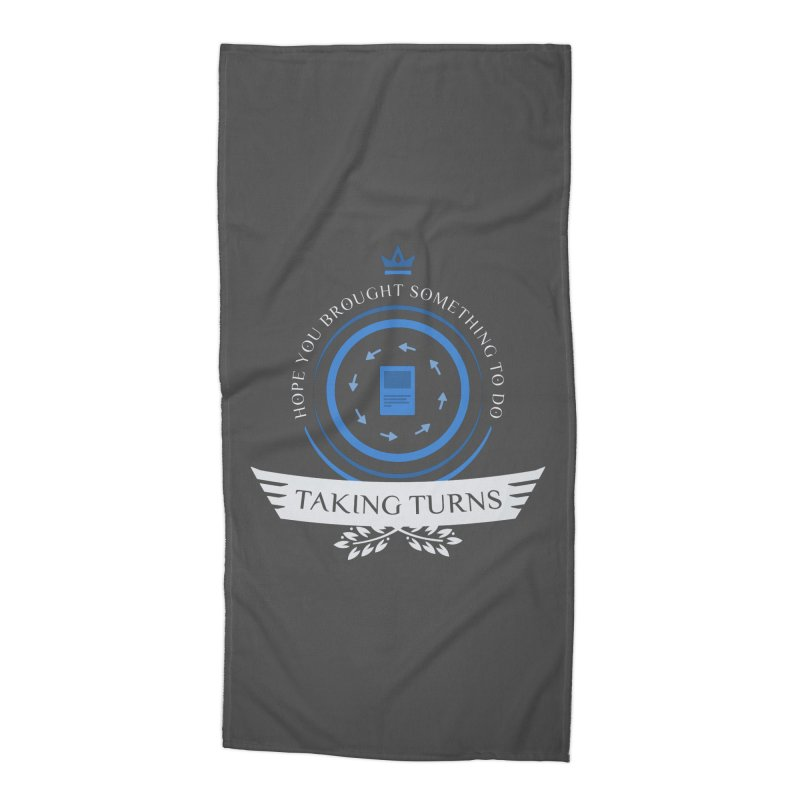 Taking Turns Accessories Beach Towel by Epic Upgrades