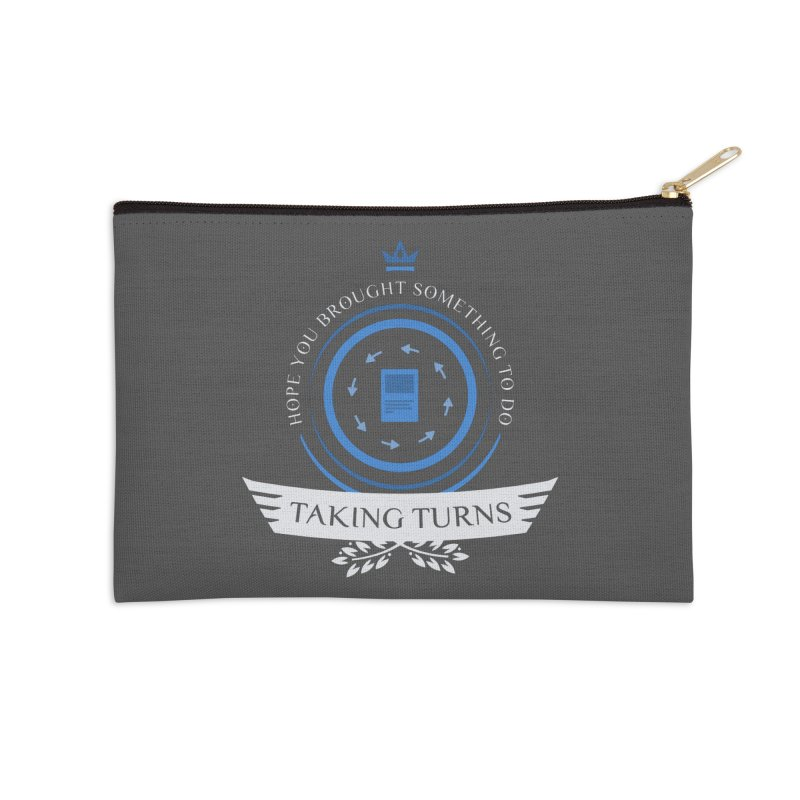 Taking Turns Accessories Zip Pouch by Epic Upgrades