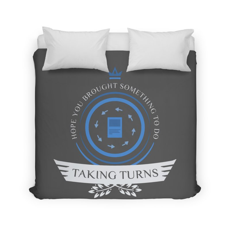 Taking Turns Home Duvet by Epic Upgrades