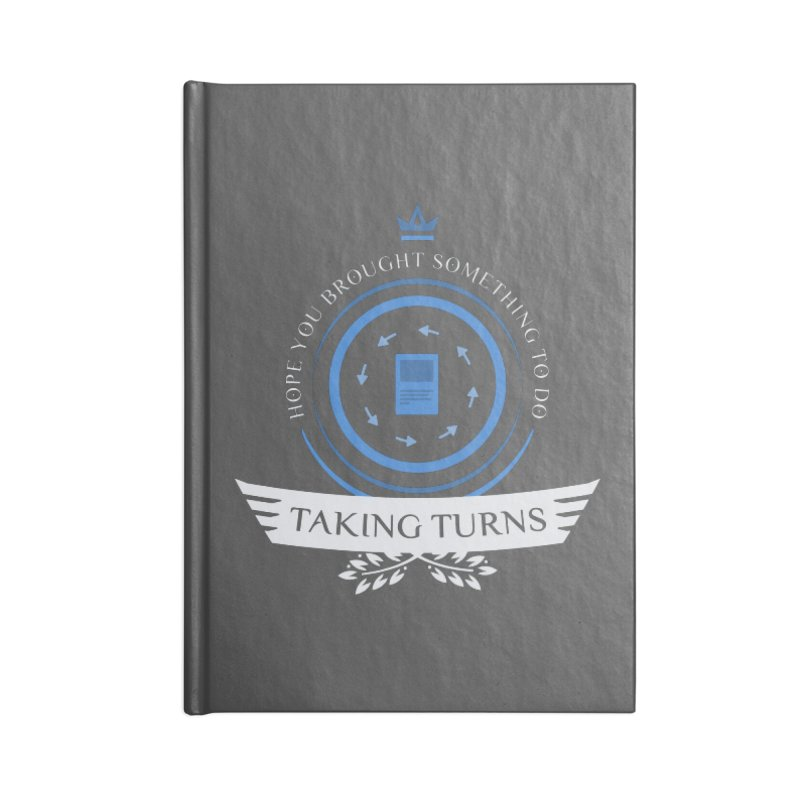 Taking Turns Accessories Blank Journal Notebook by Epic Upgrades