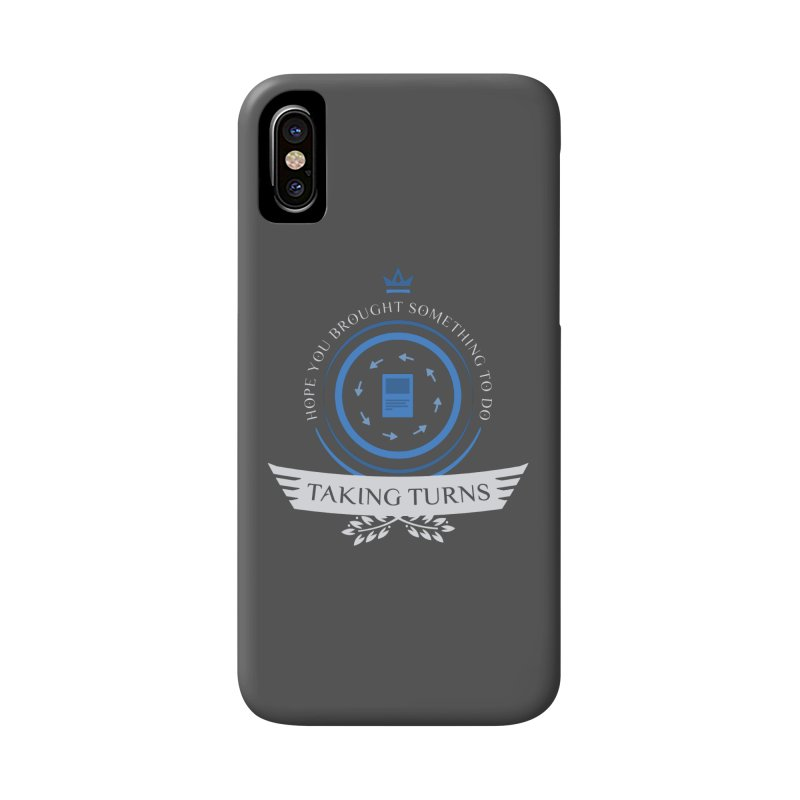 Taking Turns Accessories Phone Case by Epic Upgrades