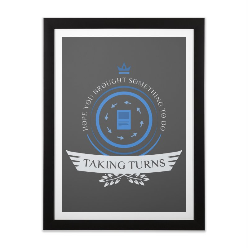 Taking Turns Home Framed Fine Art Print by Epic Upgrades