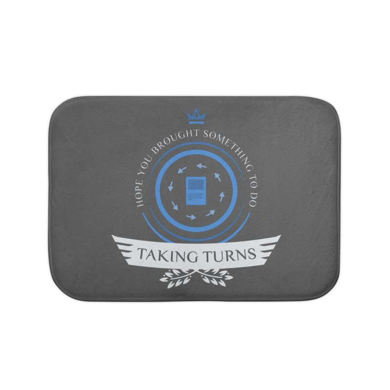 Taking Turns Home Bath Mat by Epic Upgrades