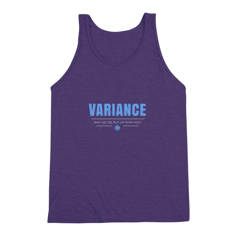 Variance Men's Triblend Tank by Epic Upgrades