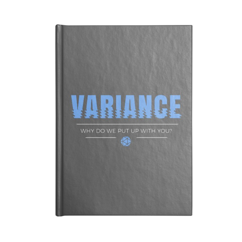 Variance Accessories Blank Journal Notebook by Epic Upgrades