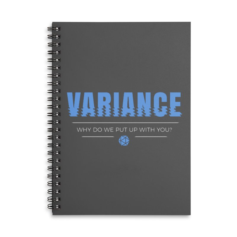 Variance Accessories Lined Spiral Notebook by Epic Upgrades