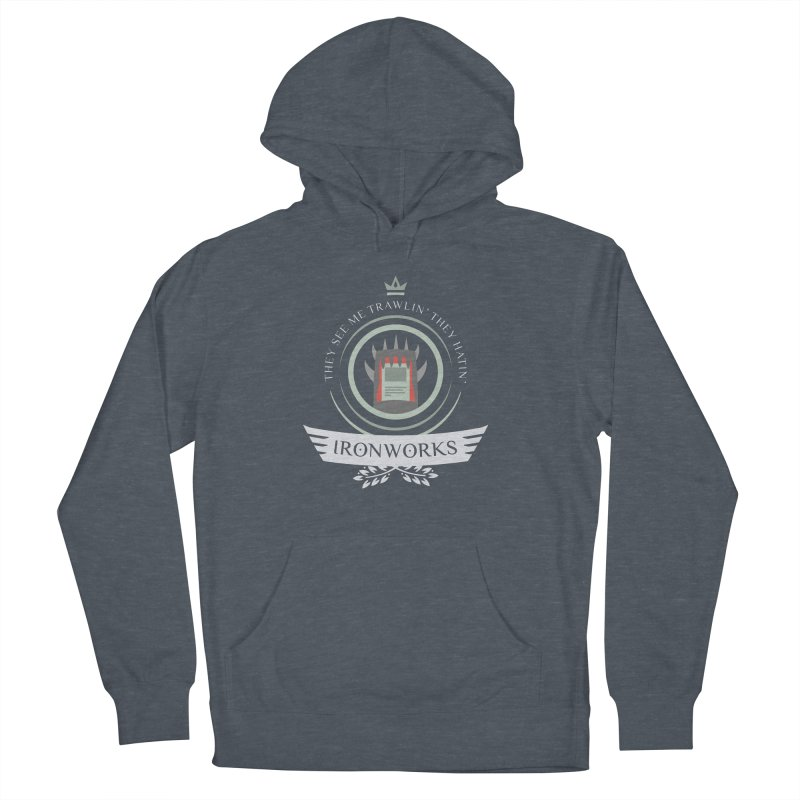 Ironworks Life Men's French Terry Pullover Hoody by Epic Upgrades