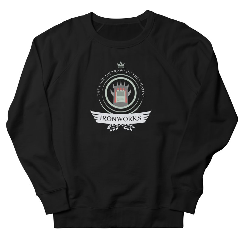 Ironworks Life Women's French Terry Sweatshirt by Epic Upgrades