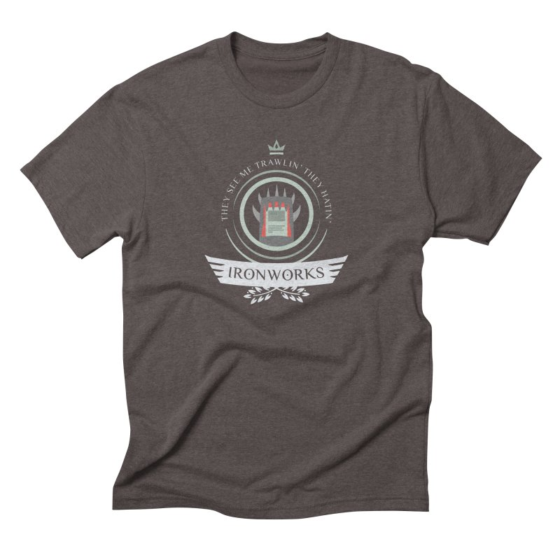 Ironworks Life Men's Triblend T-Shirt by Epic Upgrades