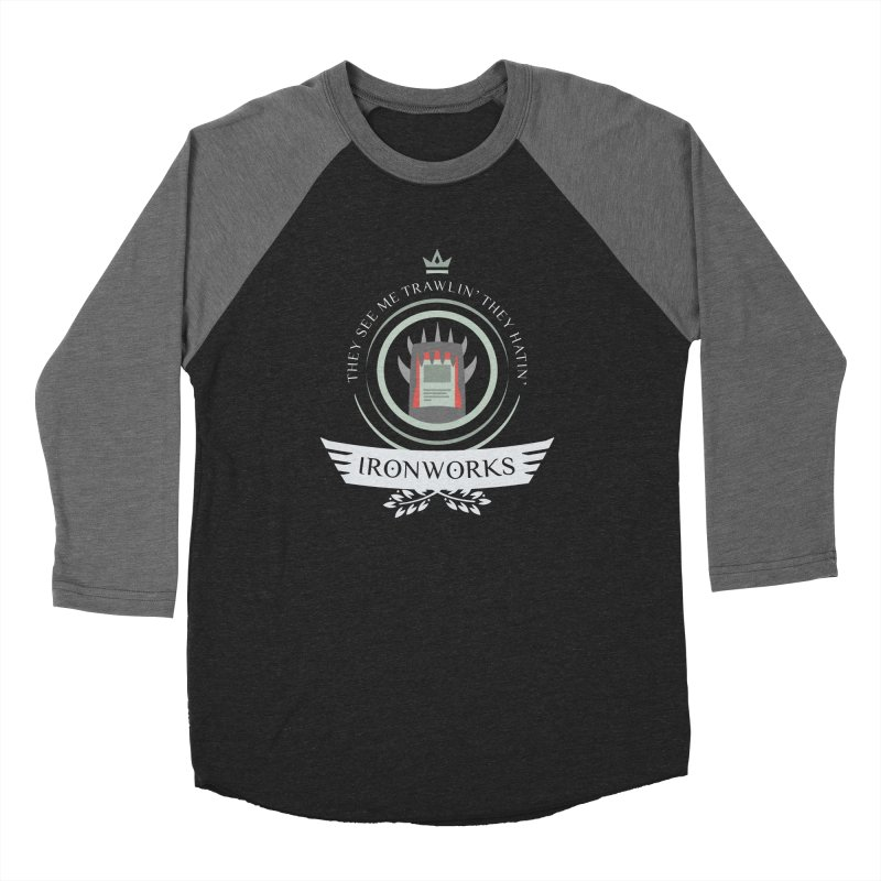 Ironworks Life Women's Baseball Triblend Longsleeve T-Shirt by Epic Upgrades
