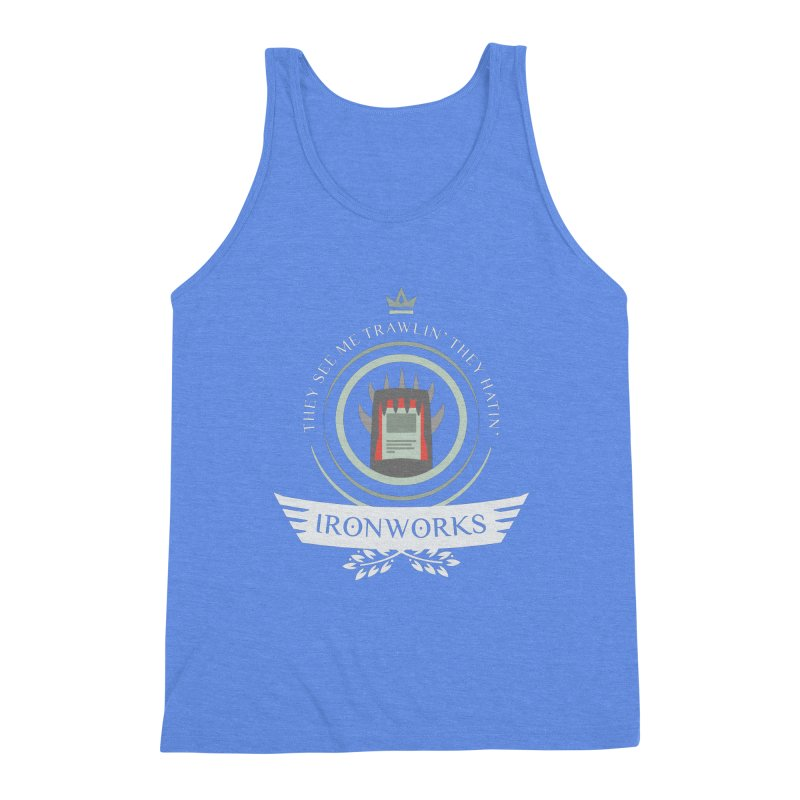Ironworks Life Men's Triblend Tank by Epic Upgrades