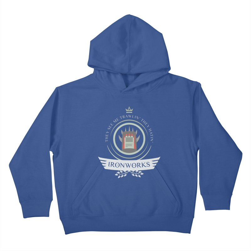 Ironworks Life Kids Pullover Hoody by Epic Upgrades