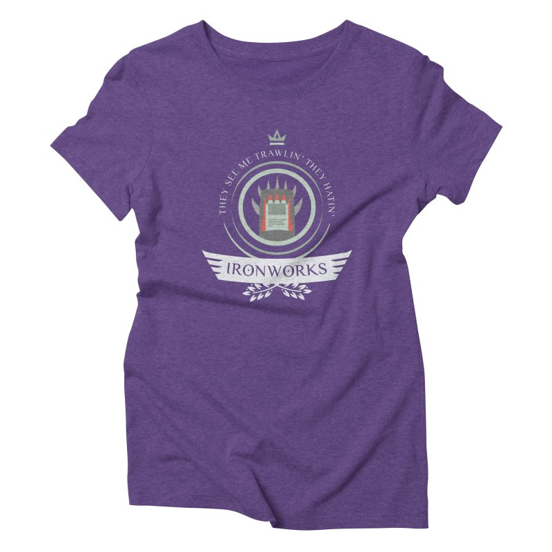 Ironworks Life Women's Triblend T-Shirt by Epic Upgrades