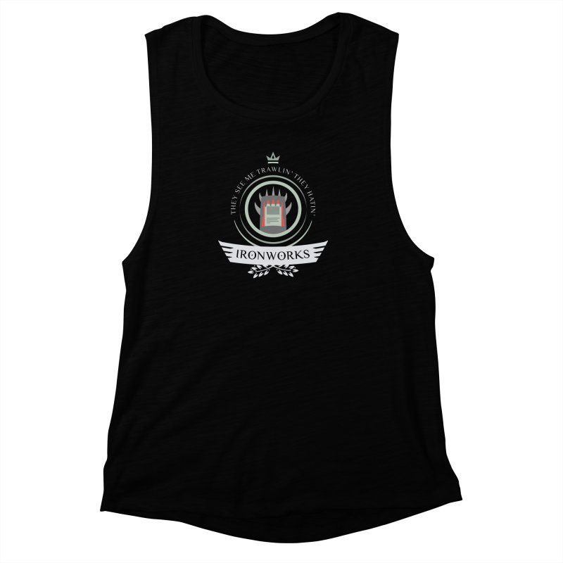 Ironworks Life Women's Muscle Tank by Epic Upgrades