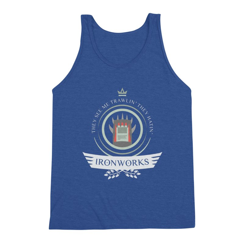Ironworks Life Men's Tank by Epic Upgrades