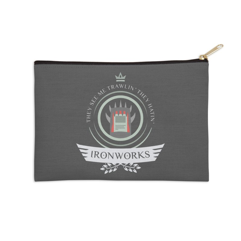 Ironworks Life Accessories Zip Pouch by Epic Upgrades