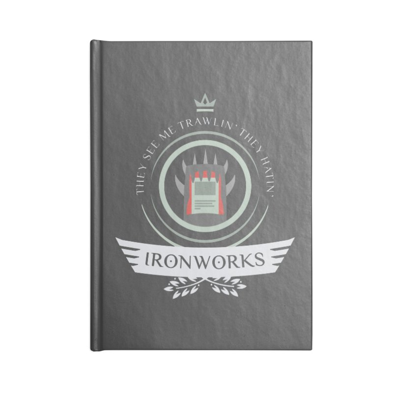 Ironworks Life Accessories Blank Journal Notebook by Epic Upgrades