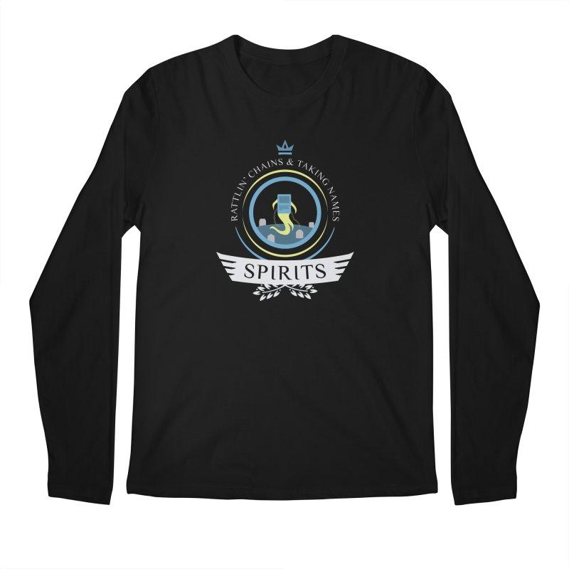Spirits Life Men's Regular Longsleeve T-Shirt by Epic Upgrades