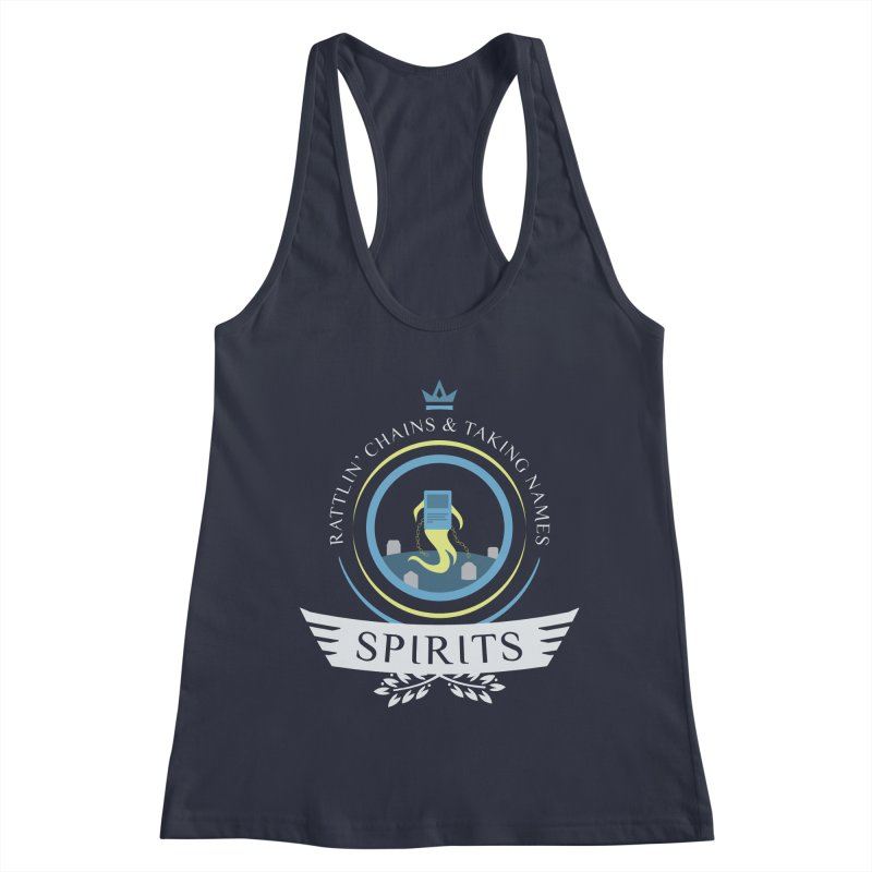 Spirits Life Women's Racerback Tank by Epic Upgrades