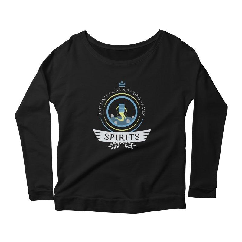 Spirits Life Women's Scoop Neck Longsleeve T-Shirt by Epic Upgrades