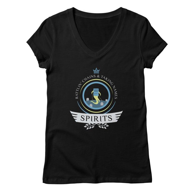 Spirits Life Women's Regular V-Neck by Epic Upgrades