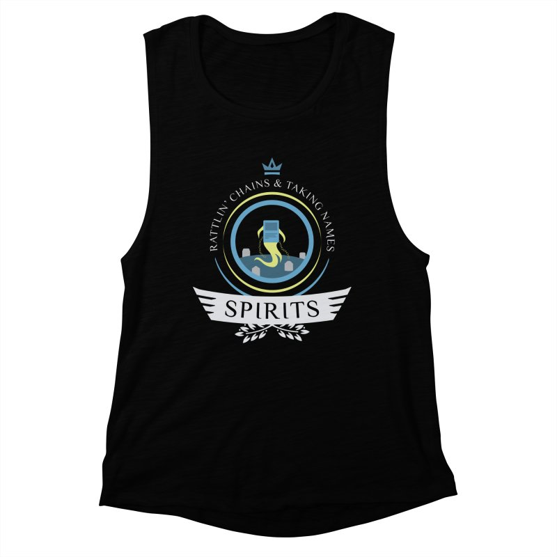 Spirits Life Women's Muscle Tank by Epic Upgrades