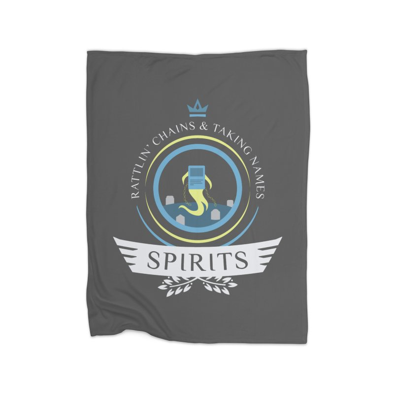 Spirits Life Home Blanket by Epic Upgrades