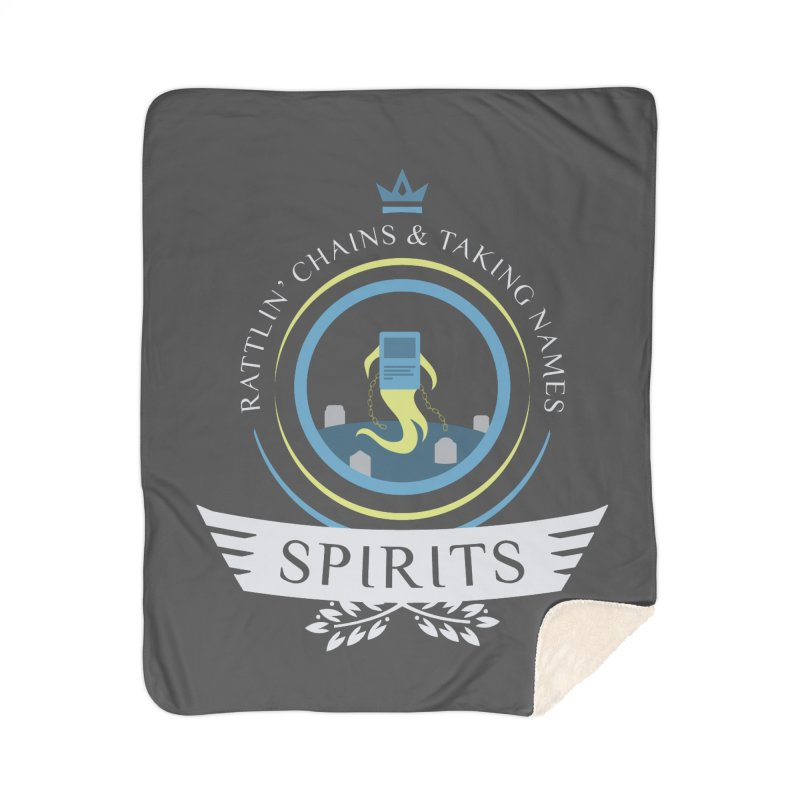 Spirits Life Home Sherpa Blanket Blanket by Epic Upgrades