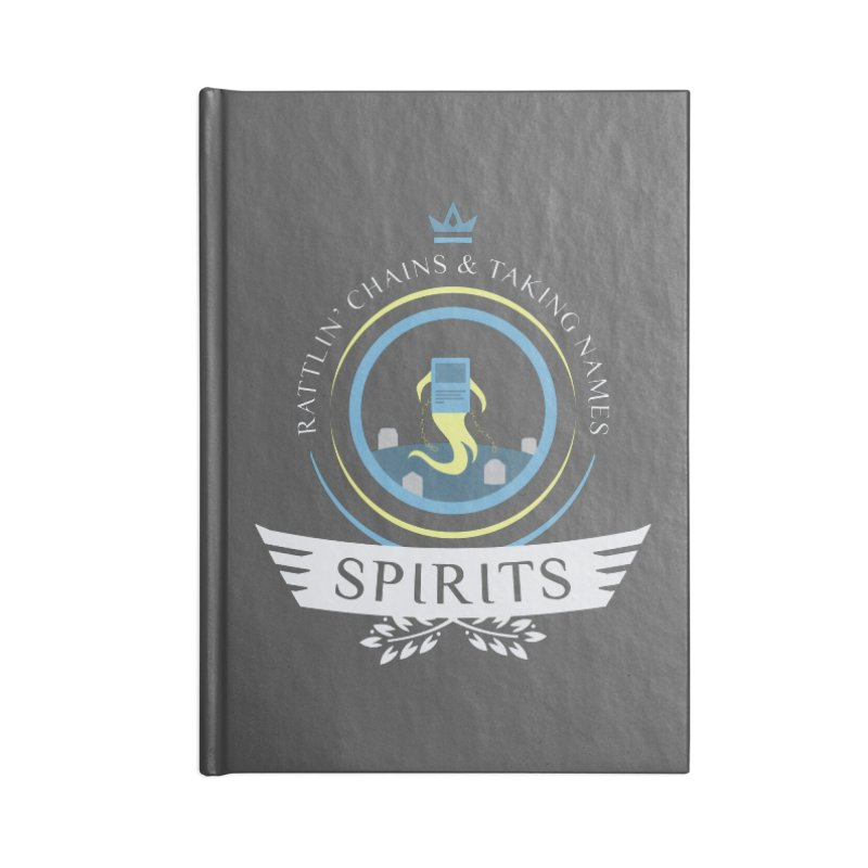 Spirits Life Accessories Blank Journal Notebook by Epic Upgrades