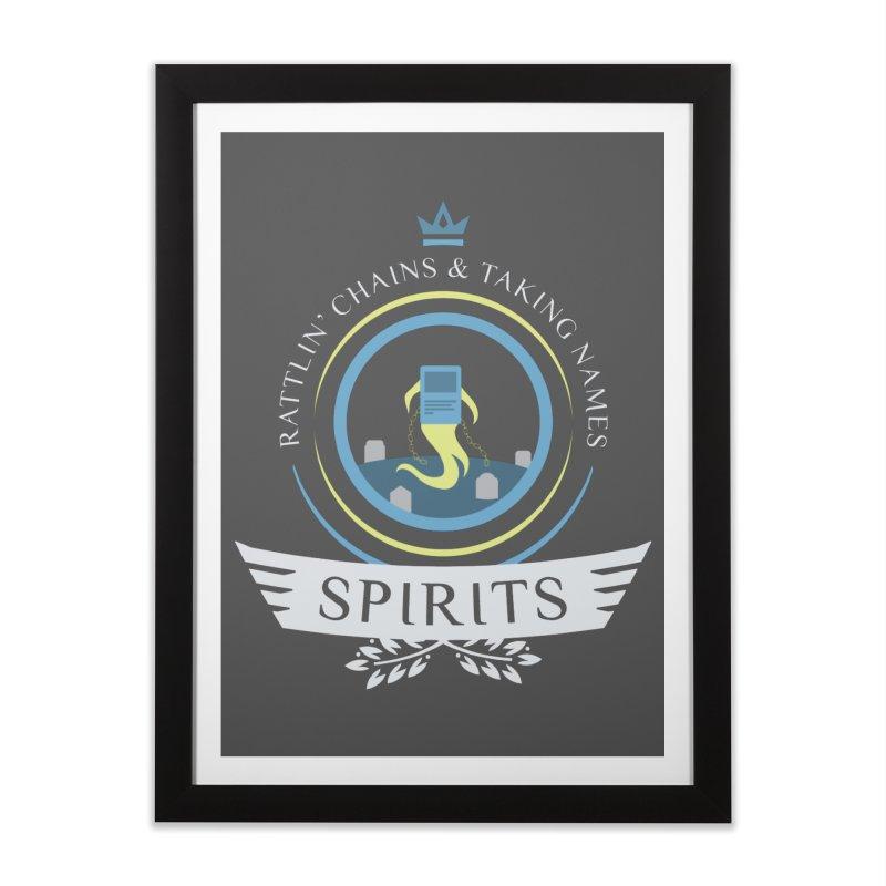 Spirits Life Home Framed Fine Art Print by Epic Upgrades