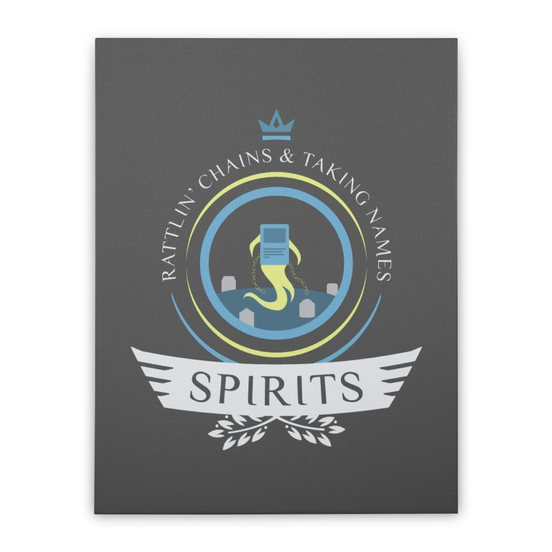 Spirits Life Home Stretched Canvas by Epic Upgrades