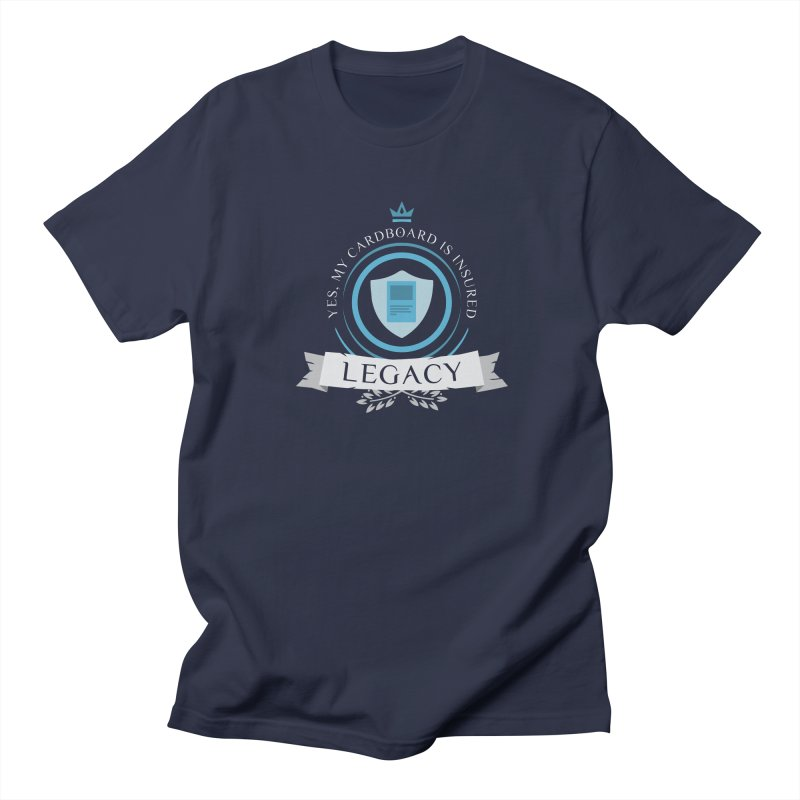 Legacy Life Men's Regular T-Shirt by Epic Upgrades