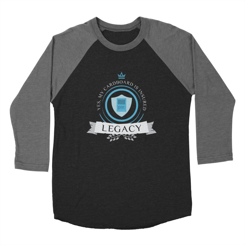 Legacy Life Men's Baseball Triblend Longsleeve T-Shirt by Epic Upgrades