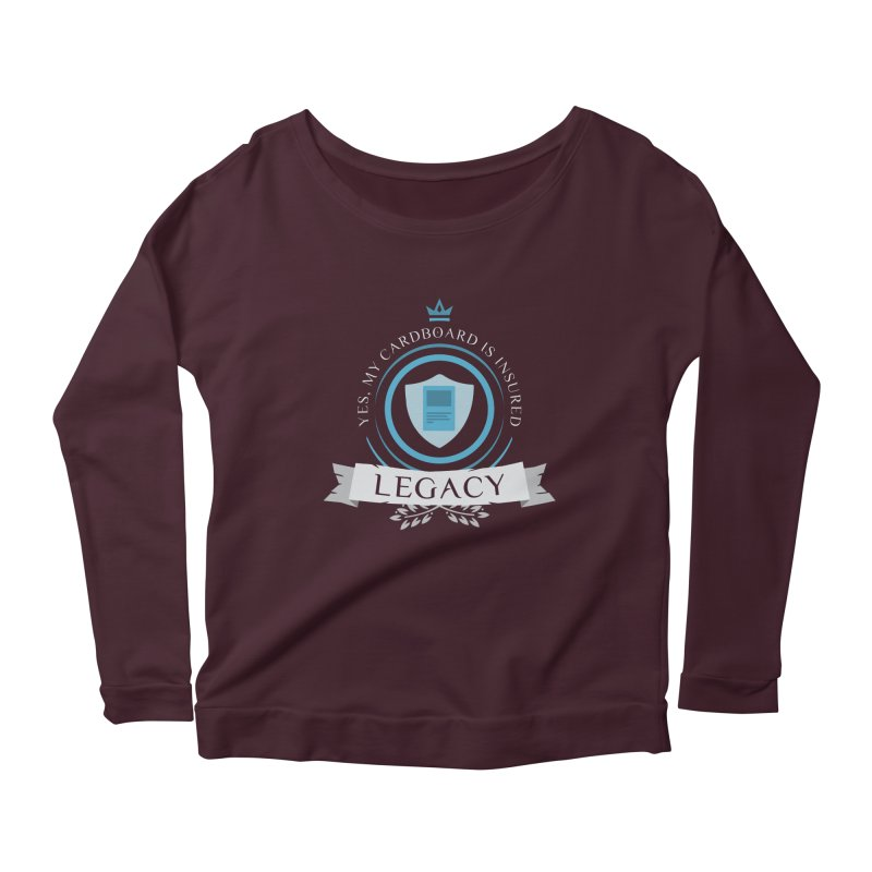 Legacy Life Women's Scoop Neck Longsleeve T-Shirt by Epic Upgrades