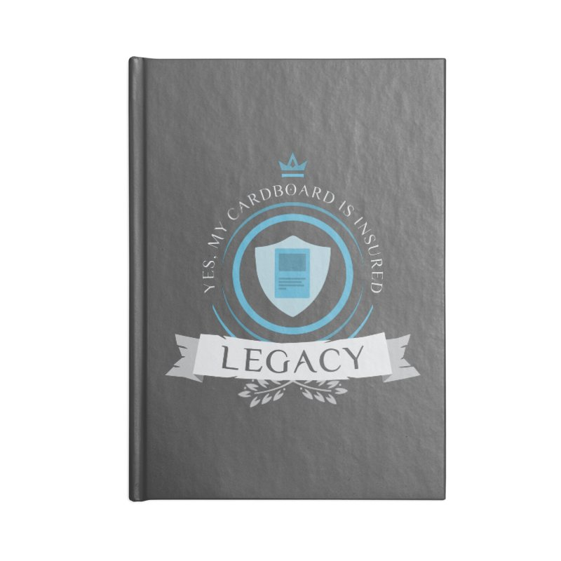 Legacy Life Accessories Blank Journal Notebook by Epic Upgrades