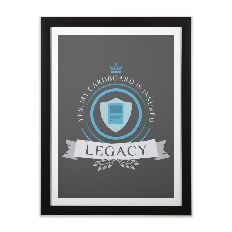 Legacy Life Home Framed Fine Art Print by Epic Upgrades