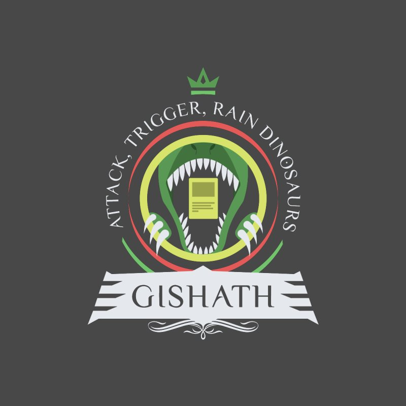 Commander Gishath Home Shower Curtain by Epic Upgrades