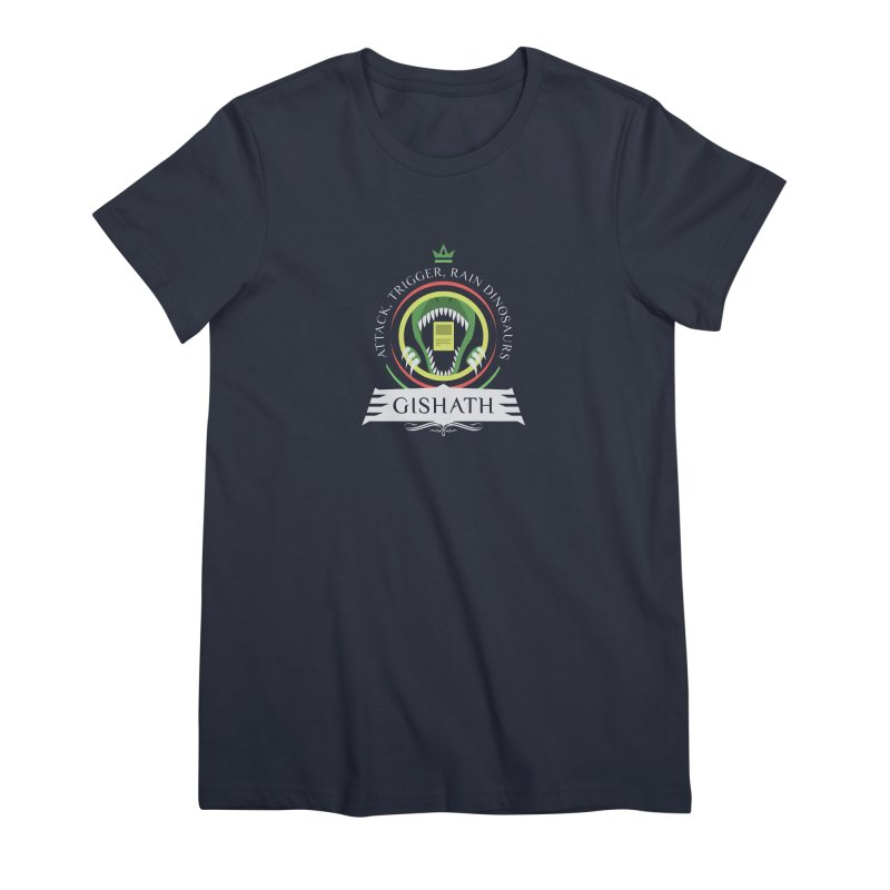 Commander Gishath Women's Premium T-Shirt by Epic Upgrades