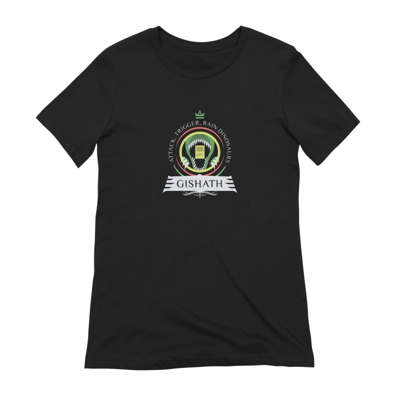 Commander Gishath Women's Extra Soft T-Shirt by Epic Upgrades