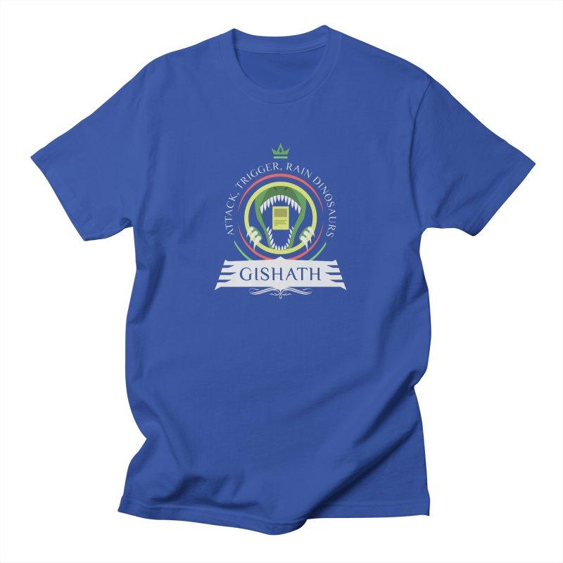 Commander Gishath Men's T-Shirt by Epic Upgrades