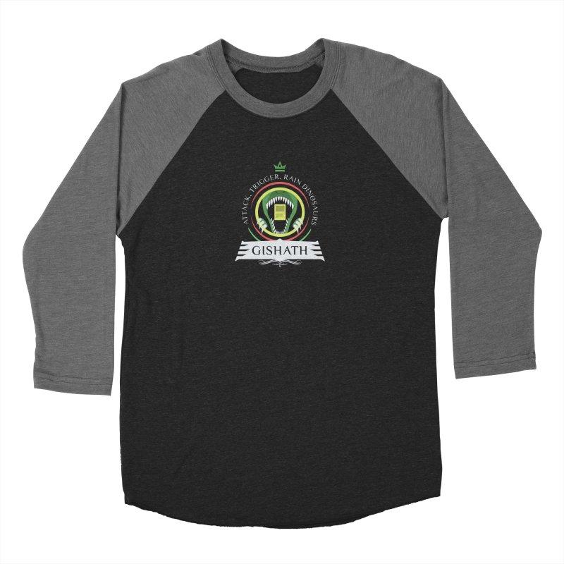 Commander Gishath Women's Baseball Triblend Longsleeve T-Shirt by Epic Upgrades