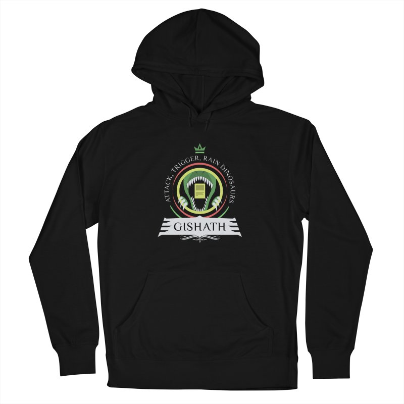 Commander Gishath Men's French Terry Pullover Hoody by Epic Upgrades